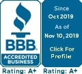 The Criminal Defense Law Center of West Michigan has an A+ rating on The BBB